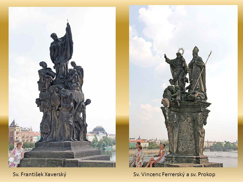Sv. František XaverskýSv. Vincenc Ferrerský a sv. Prokop