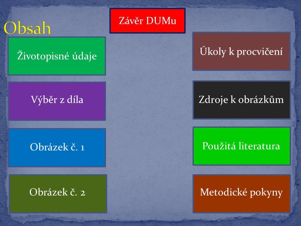 -DUM přináší základní informace o životě a díle spisovatele Františka Gellnera - slide č.