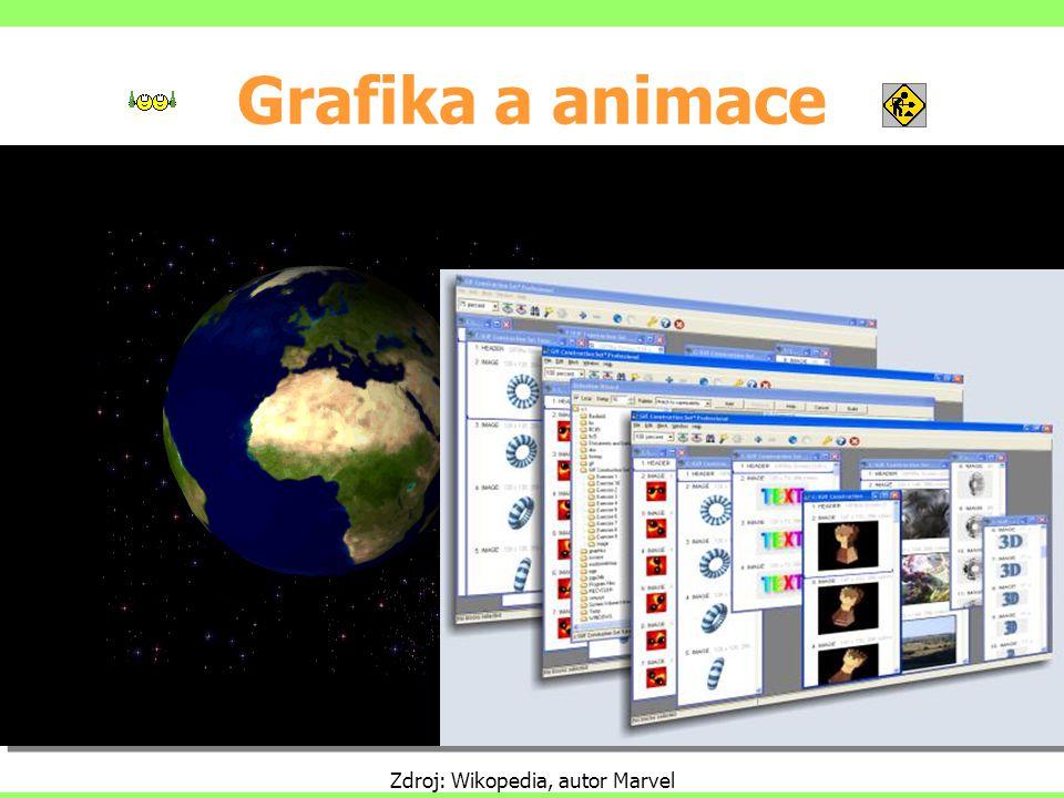 Grafika a animace Zdroj: Wikopedia, autor Marvel