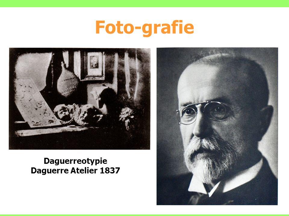 Foto-grafie 9 Daguerreotypie Daguerre Atelier 1837