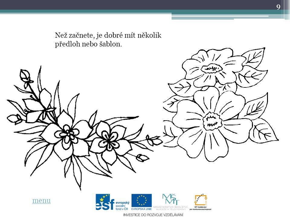 10 zdroje informací: http://jednimtahem.webnode.cz/technika-jednim-tahem/ http://www.tardona.cz/products/one-steroke-cinska-malba-na-nehty/ vlastní práce menu