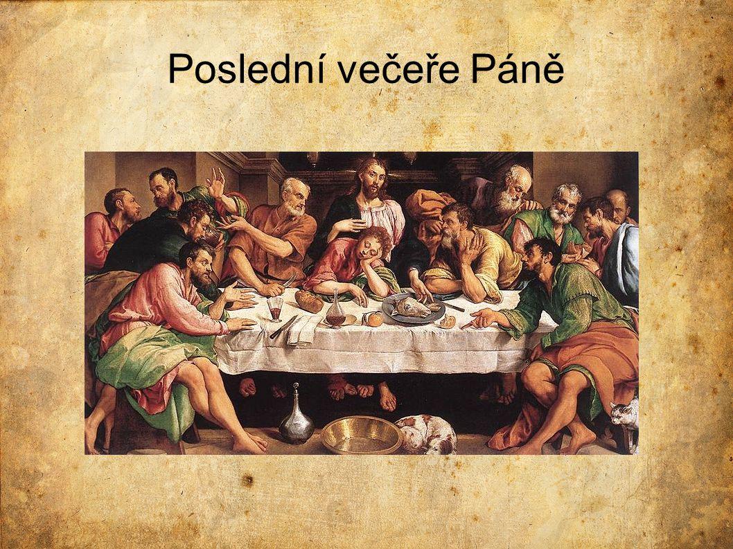 Porovnání oproti Leonardovu dílu  Malováno na plátno, nikoliv na stěnu  Méně detailů (jídlo, prostředí)  Neuspořádanost  Napjatější situace (Kristus se ptá, kdo ho zradí)  Červené stíny za sklenicemi s vínem  Bosé nohy