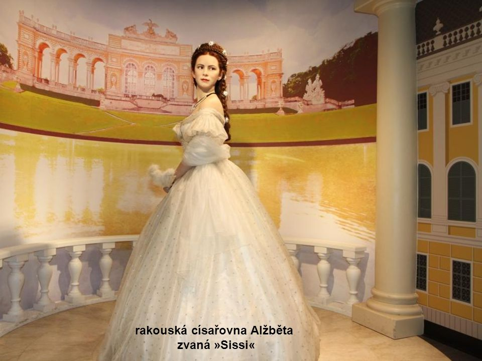 rakouská císařovna Alžběta zvaná »Sissi«
