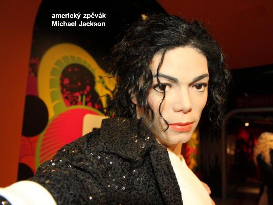 americký zpěvák Michael Jackson