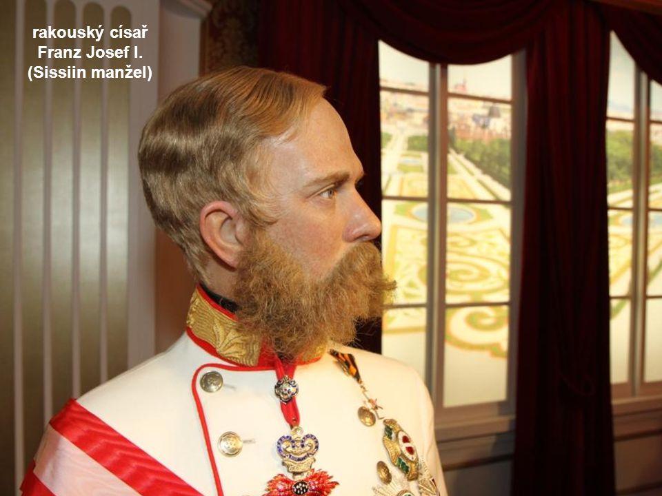 rakouský císař Franz Josef I. (Sissiin manžel)