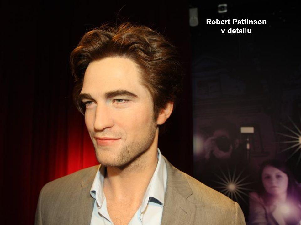 britský herec, hudebník a model Robert Pattinson
