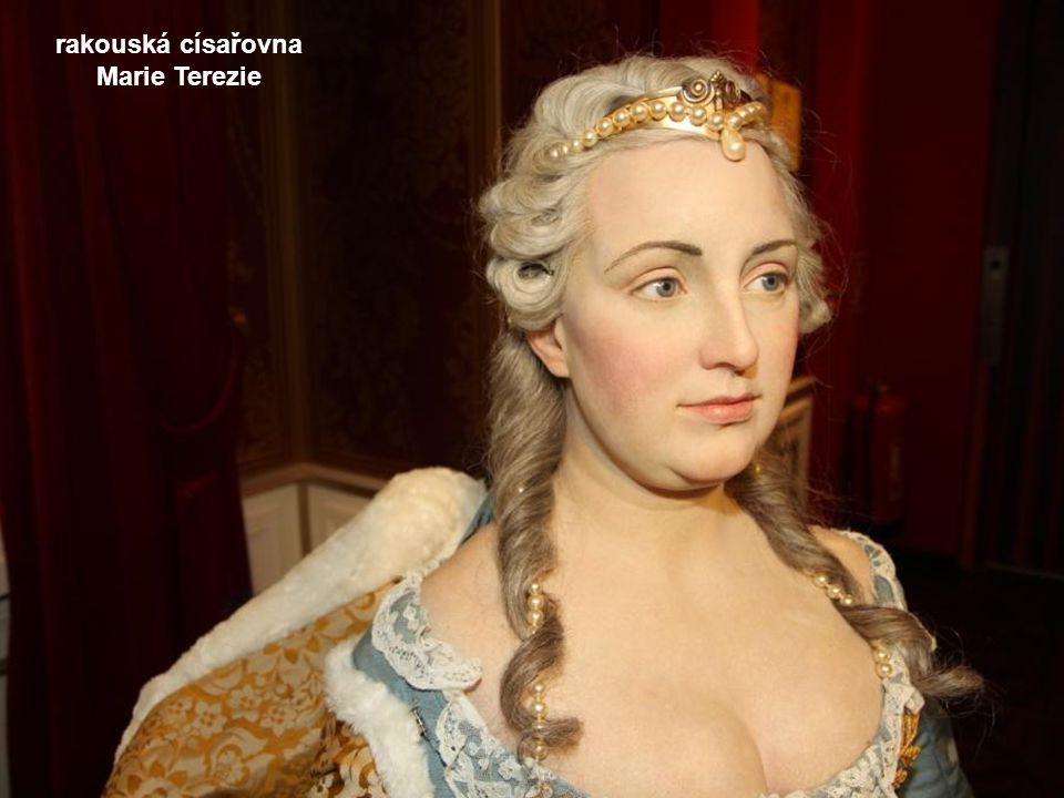 rakouská císařovna Marie Terezie