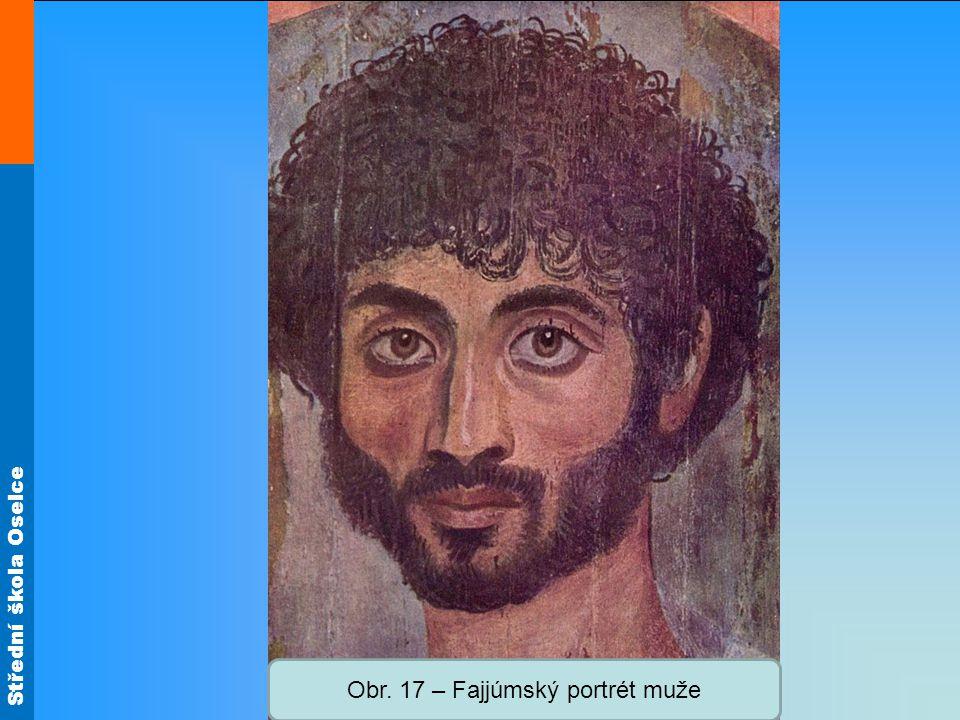 Střední škola Oselce Obr. 17 – Fajjúmský portrét muže