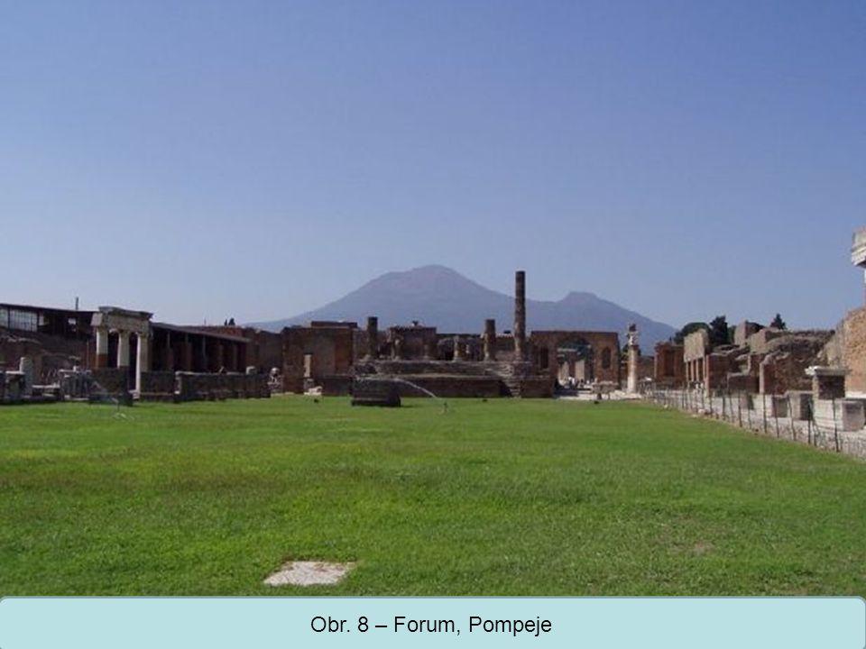 Střední škola Oselce Obr. 8 – Forum, Pompeje