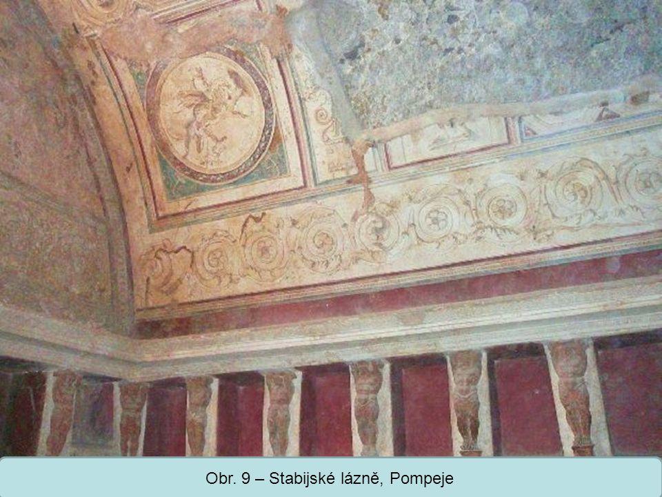 Střední škola Oselce Obr. 9 – Stabijské lázně, Pompeje