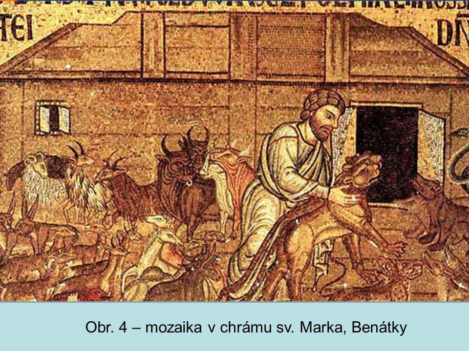 Střední škola Oselce Obr. 4 – mozaika v chrámu sv. Marka, Benátky