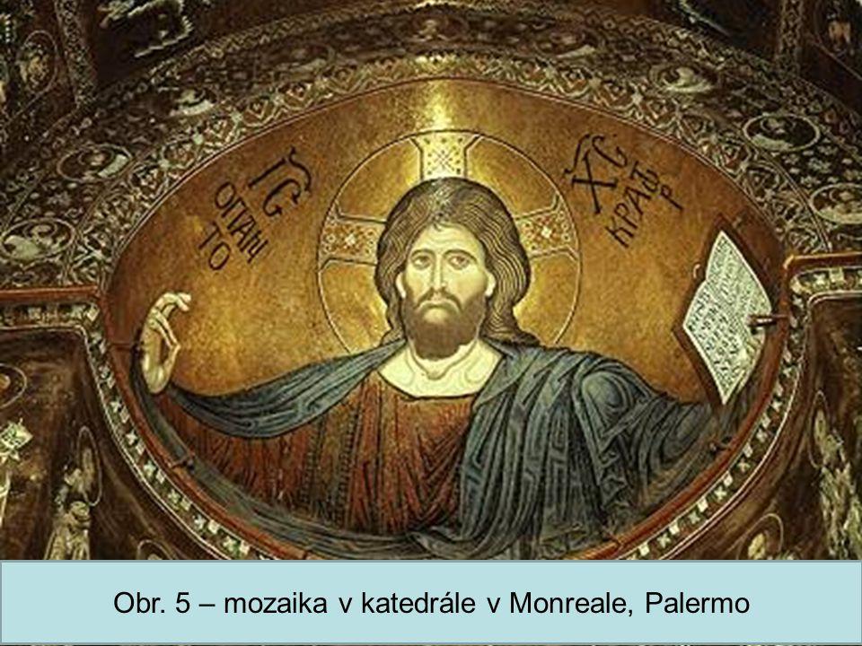 Střední škola Oselce Obr. 5 – mozaika v katedrále v Monreale, Palermo