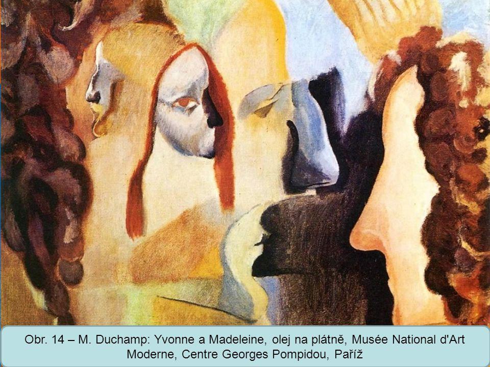 Střední škola Oselce Obr. 14 – M. Duchamp: Yvonne a Madeleine, olej na plátně, Musée National d'Art Moderne, Centre Georges Pompidou, Paříž