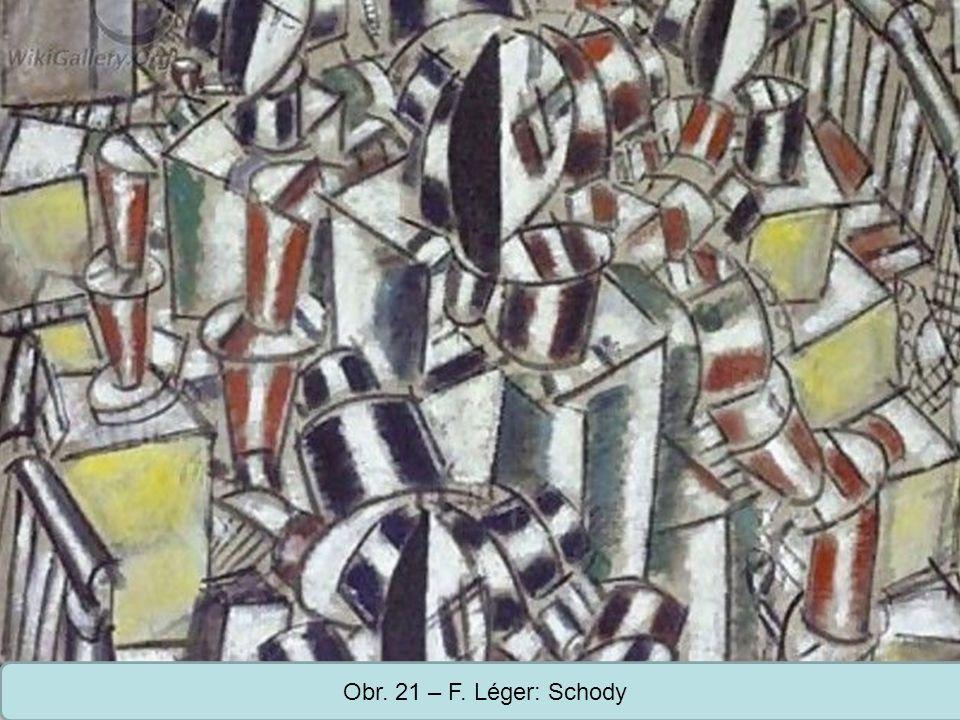 Střední škola Oselce Obr. 21 – F. Léger: Schody