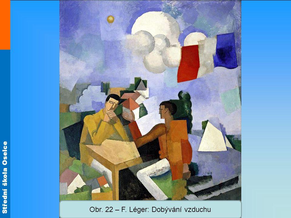 Střední škola Oselce Obr. 22 – F. Léger: Dobývání vzduchu