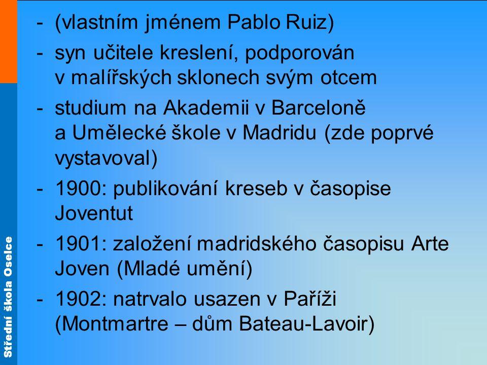 Střední škola Oselce Umělecký vývoj P.