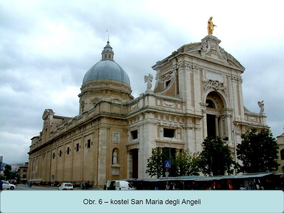 Střední škola Oselce Obr. 6 – kostel San Maria degli Angeli