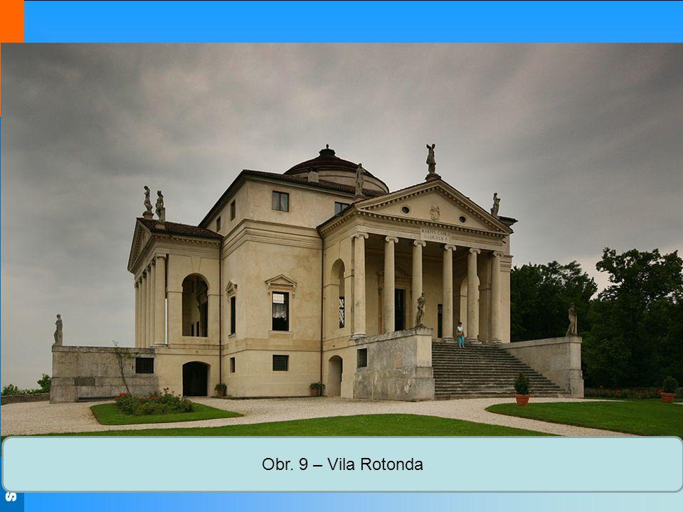 Střední škola Oselce Obr. 9 – Vila Rotonda