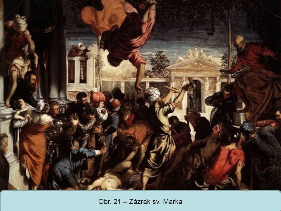 Střední škola Oselce Obr. 21 – Zázrak sv. Marka