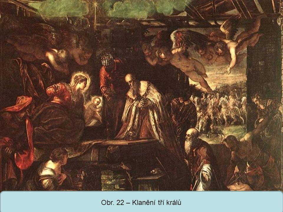 Střední škola Oselce Obr. 22 – Klanění tří králů