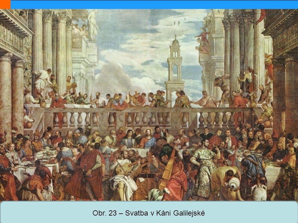 Střední škola Oselce Obr. 23 – Svatba v Káni Galilejské