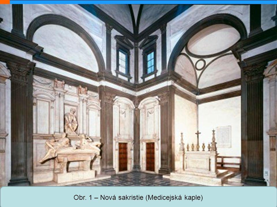 Střední škola Oselce Obr. 1 – Nová sakristie (Medicejská kaple)