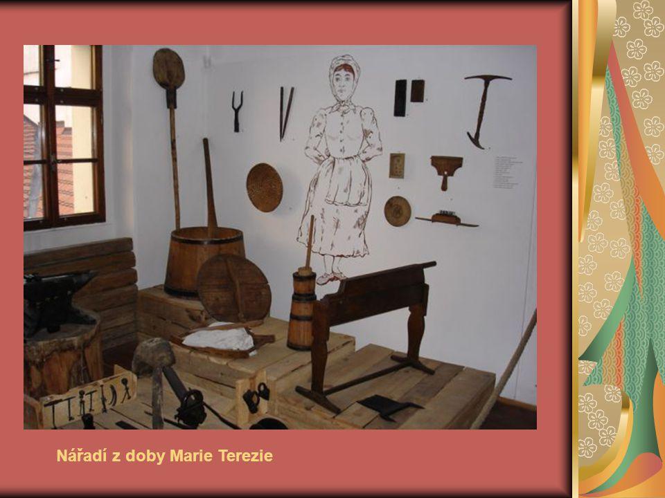 Nářadí z doby Marie Terezie