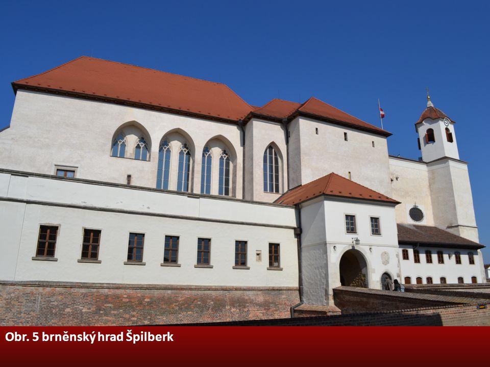 Obr. 5 brněnský hrad Špilberk