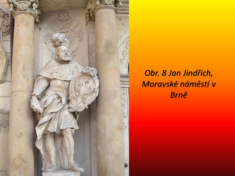 Obr. 8 Jan Jindřich, Moravské náměstí v Brně