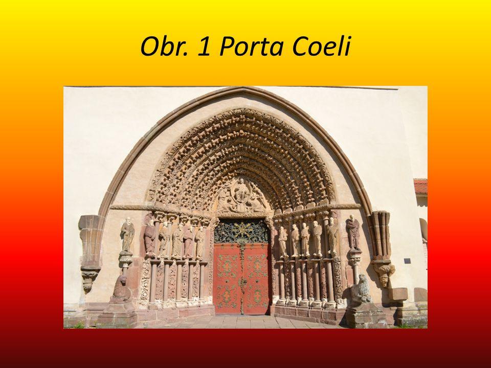 Obr. 1 Porta Coeli