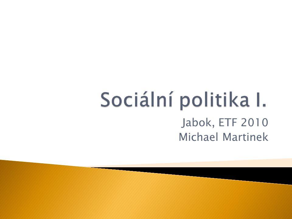 042 Sociální politika I.