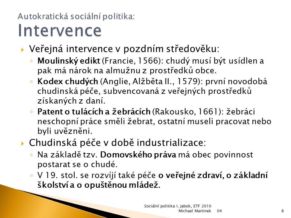  Ideologie individualismu: 1.Každý jedinec má tvrdě pracovat a snažit se uspět v soutěži s ostatními.