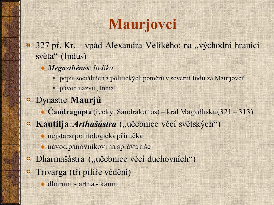 Maurjovci 327 př.Kr.