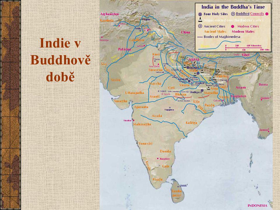 Indie v Buddhově době