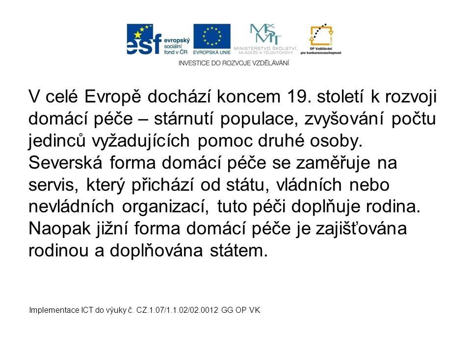 V celé Evropě dochází koncem 19.