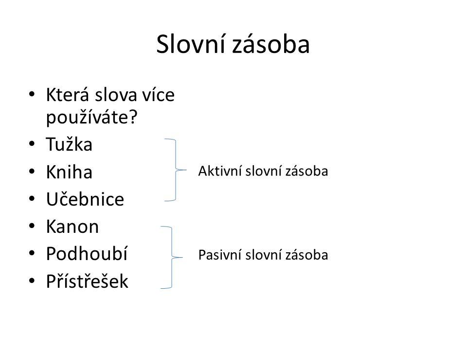 klínek klín +přípona -ek U některých slov je tzv.nulová koncovka.