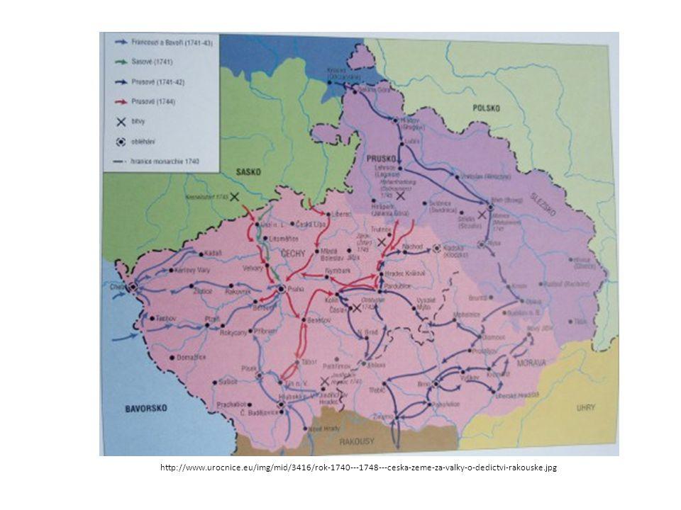 Sedmiletá válka (1756 - 1763) válečný konflikt mezi hlavními evropskými mocnostmi Velkou Británii, Pruskem a Portugalskem na straně jedné a Francií, Rakouskem, Ruskem, Švédskem, Svatou říší římskou, Saskem a Španělskem na straně druhé Českým zemím přinesla definitivní ztrátu Kladska a větší části Slezska,