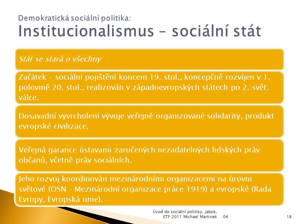  Sociální teorie: ◦ studium vědeckých způsobů myšlení o společenském životě; ◦ pomocí odborných pojmů a vědeckých metod usiluje o utřídění a objasnění debaty o cílech a problémech života společnosti; ◦ nabízí různé možnosti, jak reagovat na problémy společenského života; ◦ začaly vznikat v 19.