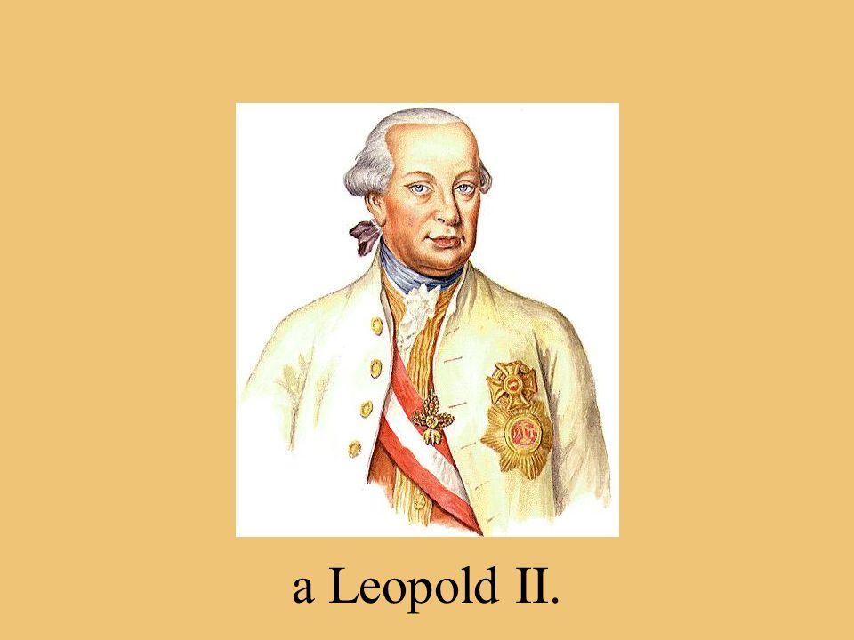 Dva synové se stali císaři, byl to: Josef II.