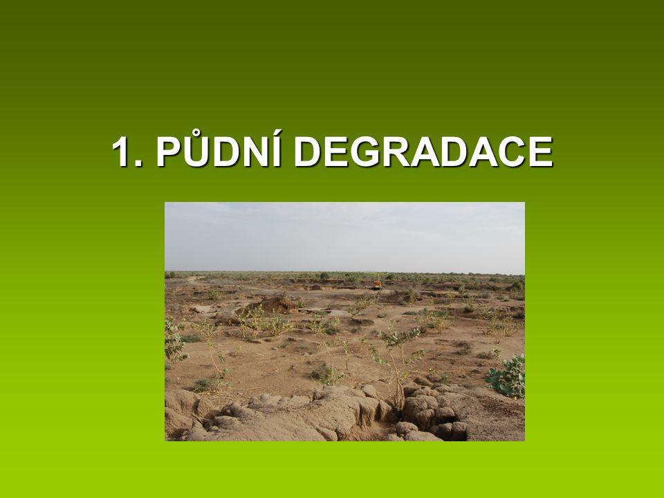 1. PŮDNÍ DEGRADACE