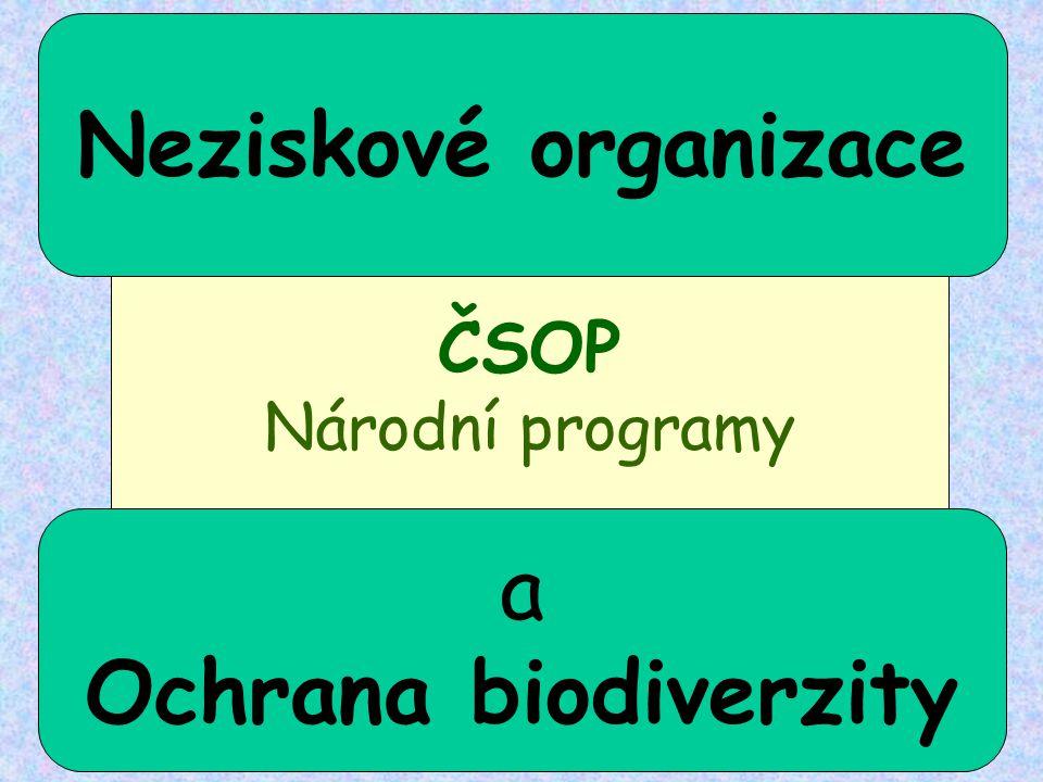 ČSOP Národní programy Neziskové organizace a Ochrana biodiverzity