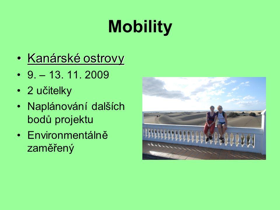 Mobility Kanárské ostrovyKanárské ostrovy 9. – 13.