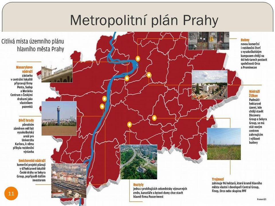 Metropolitní plán Prahy 11