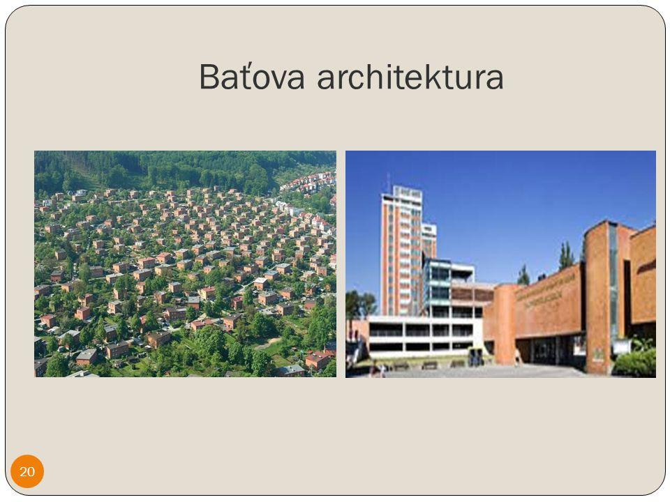 Baťova architektura 20