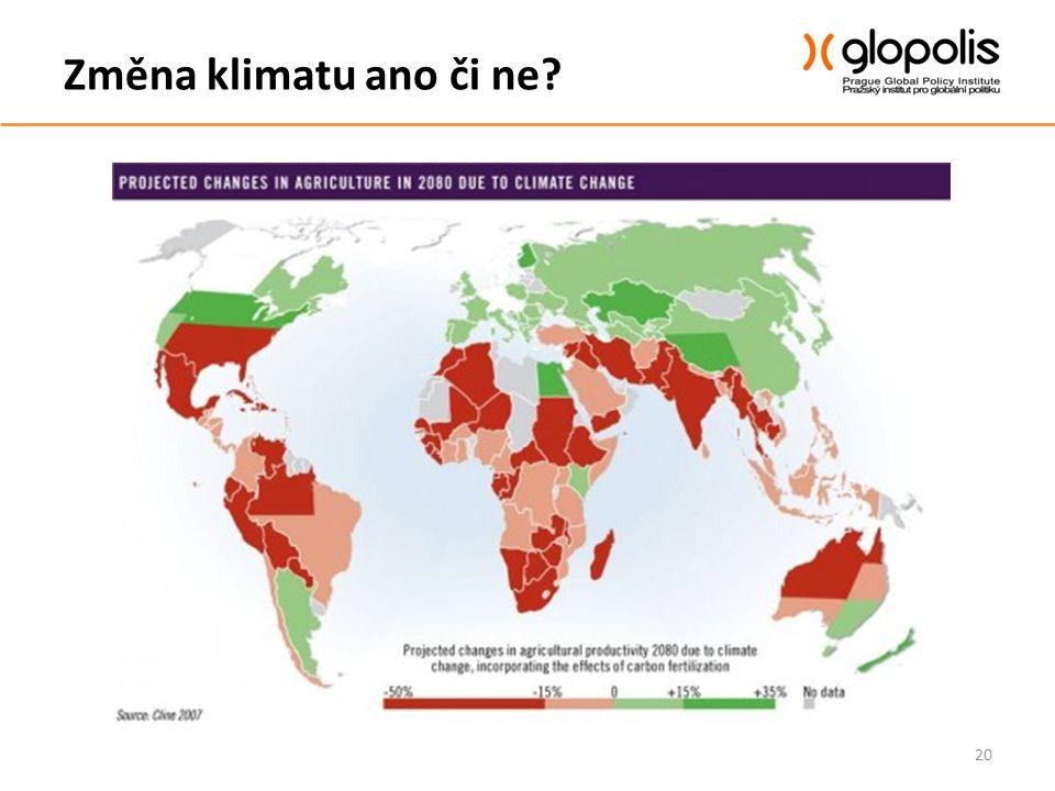 Změna klimatu ano či ne? 20