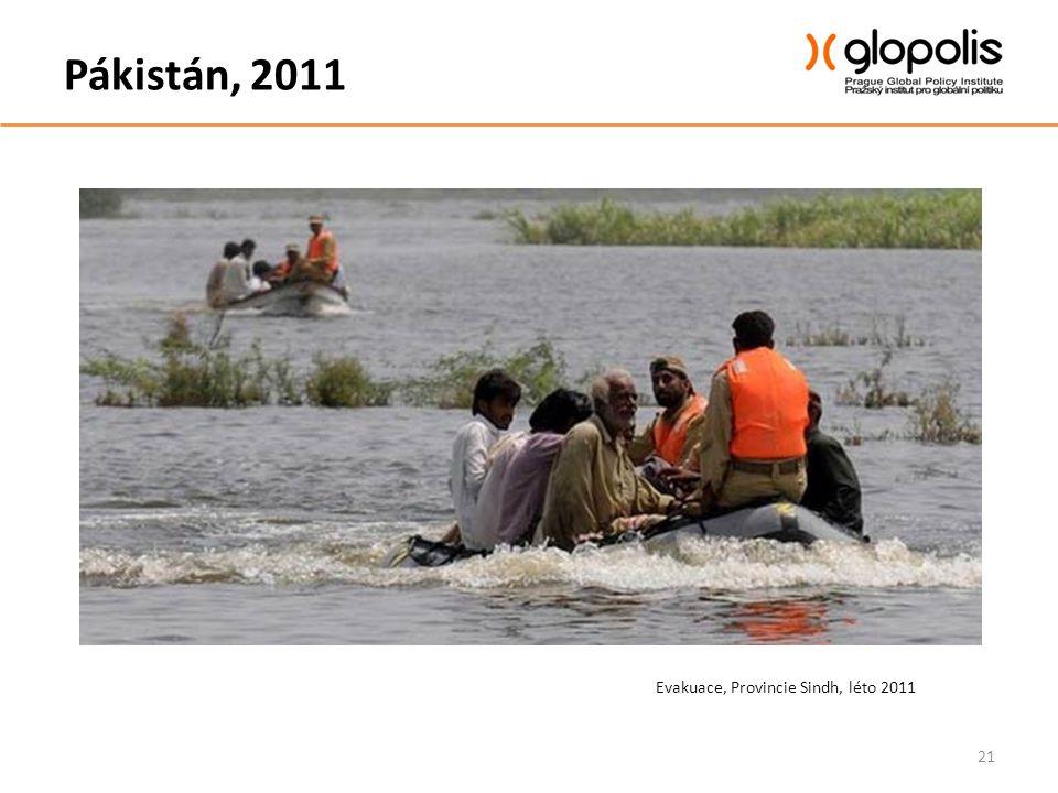 Pákistán, 2011 21 Evakuace, Provincie Sindh, léto 2011