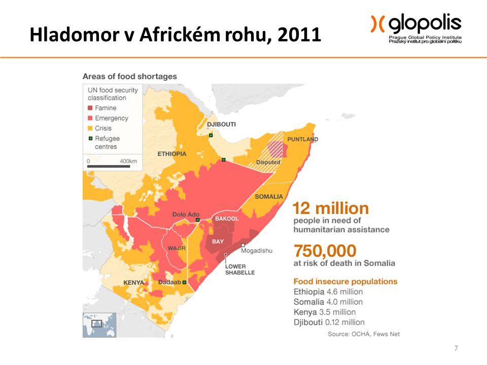 Dnešní kontext Potravinová krize v Sahelu 2012 Ohroženo na 15 milionů lidí – výhled červen až září -Niger -Mali -Čad -Mauretánie -Burkina Faso -Senegal -Gambie 8