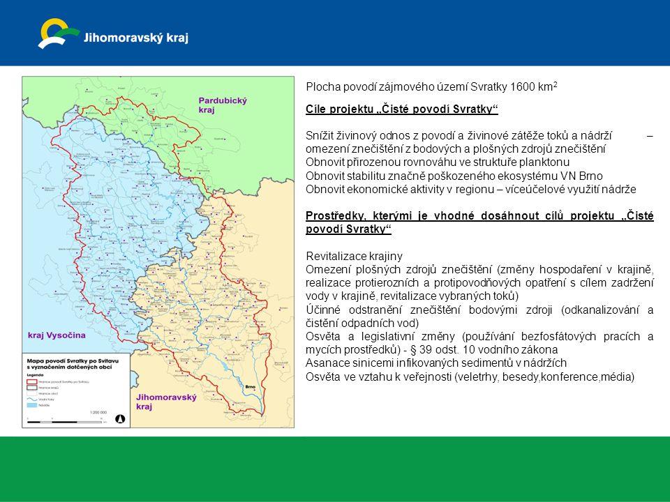 """Žádosti o dotaci z OP ŽP na projekt """"Realizace opatření na Brněnské údolní nádrži předcházelo zpracování celé řady dokumentací, které monitorovaly celé povodí, vlastní nádrže, navrhovalo celou řadu opatření v terénu."""