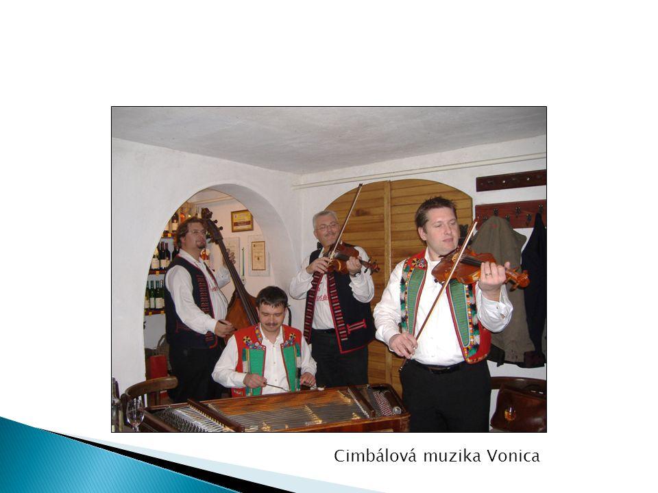 Cimbálová muzika Vonica