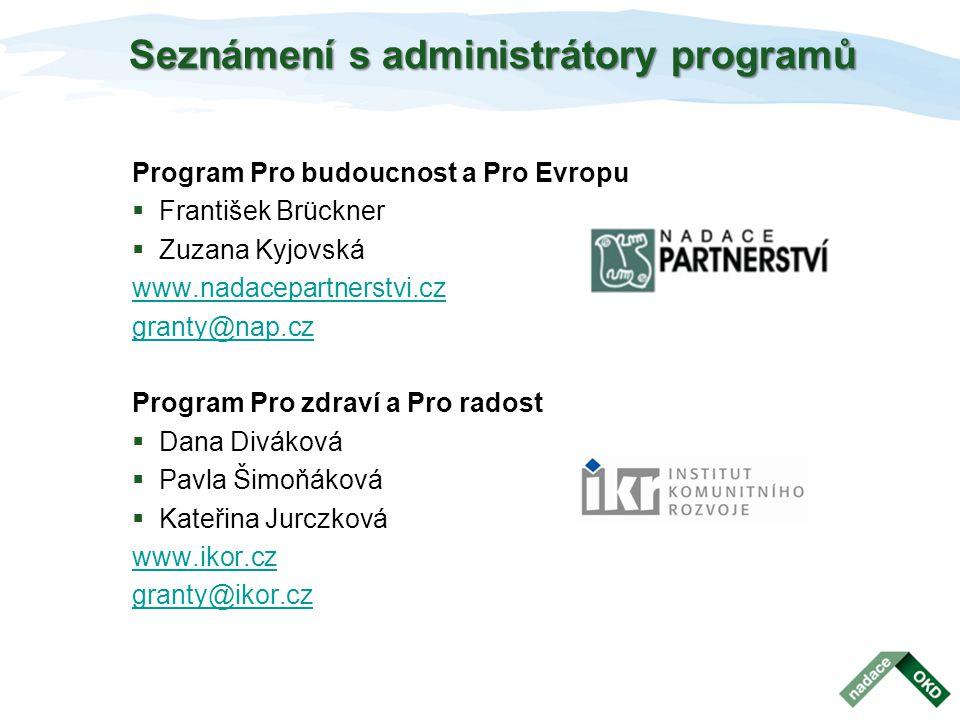Podpořené projekty v roce 2011